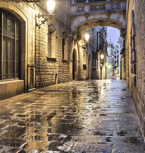 free bike tour barcelona gothic quarter